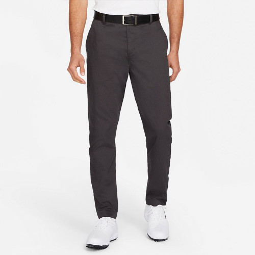 Nike Golf Dri-Fit UV Chino Pants Slim Trousers (Dark Smoke Grey)
