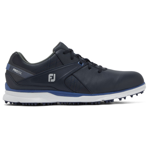 FootJoy PRO SL Mens Spikeless Golf Shoes (Navy/Light Blue)