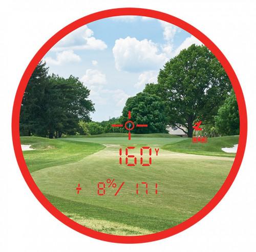 Bushnell Pro XE Golf Laser Rangefinder reverse