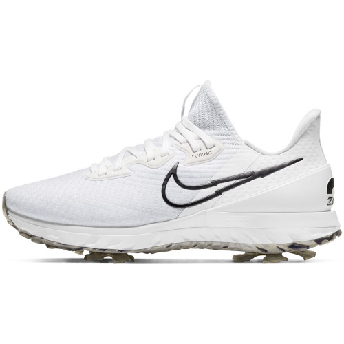 Nike Air Zoom Infinity Tour Waterproof Golf Shoes (White/Black/Platinum)