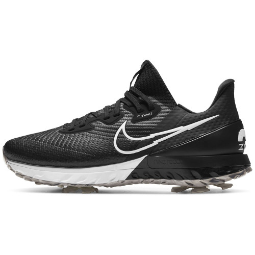 Nike Air Zoom Infinity Tour Waterproof Golf Shoes  - Black/White