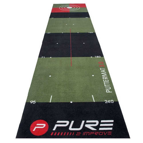 Pure2Improve Golf Putting Mat 3.0 / Training Aid (65x300cm)