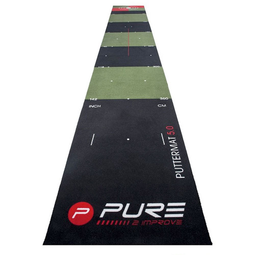 Pure2Improve Golf Putting Mat 5.0 / Training Aid (65x500cm)