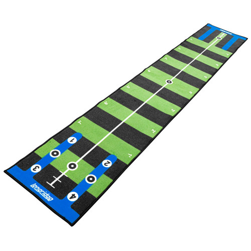 Longridge Golf Pro Putting Mat With Slope / Training Aid (3 & 4 Meters)