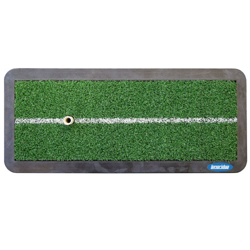 Longridge Launch Golf Driving Mat With Tee / Practice Training Aid (47x21cm)