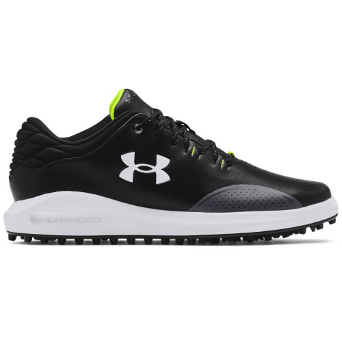 Under Armour Mens UA Draw Sport Spikeless Golf Shoes - Wide Fit