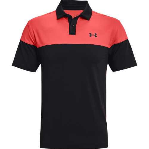 Under Armour Mens UA T2G Blocked Golf Polo Shirt