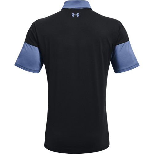 Under Armour Mens UA T2G Blocked Golf Polo Shirt reverse