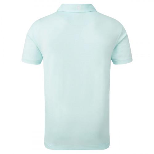 FootJoy Stretch Pique Solid Mens Golf Polo Shirt reverse