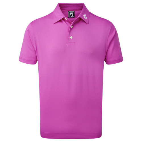 FootJoy Stretch Pique Solid Mens Golf Polo Shirt