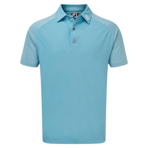 FootJoy Raglan Jacquard Block Mens Golf Polo Shirt