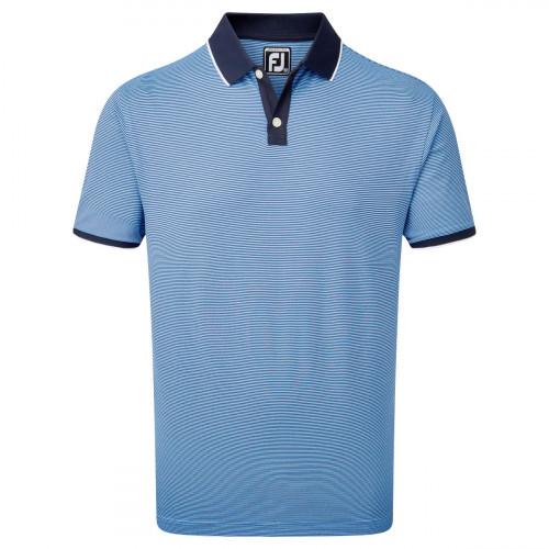 FootJoy Pique Ministripe Mens Golf Polo Shirt