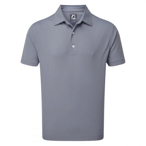 FootJoy Stretch Pique FJ Print Mens Golf Polo Shirt