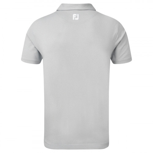 FootJoy Lisle Engineered Chestband Mens Golf Polo Shirt reverse