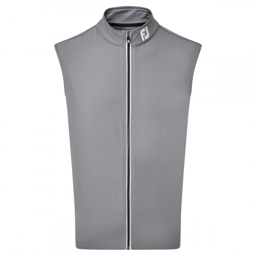 FootJoy Full Zip Knit Vest Mens Golf Gilet