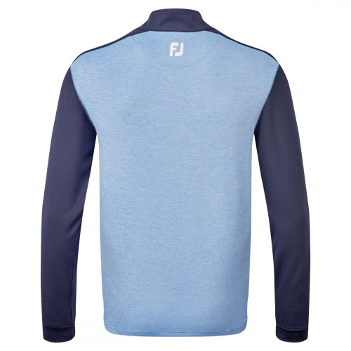 FootJoy Heather Colour Block Chill-Out Mens Golf Pullover reverse