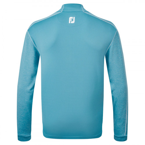 FootJoy Tonal Heather Chill-Out Mens Golf Pullover reverse
