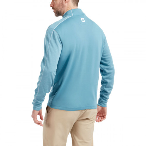 FootJoy Tonal Heather Chill-Out Mens Golf Pullover