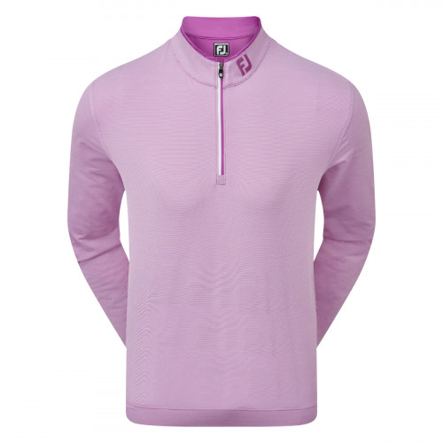 FootJoy Lightweight Microstripe Chill-Out Mens Golf Pullover