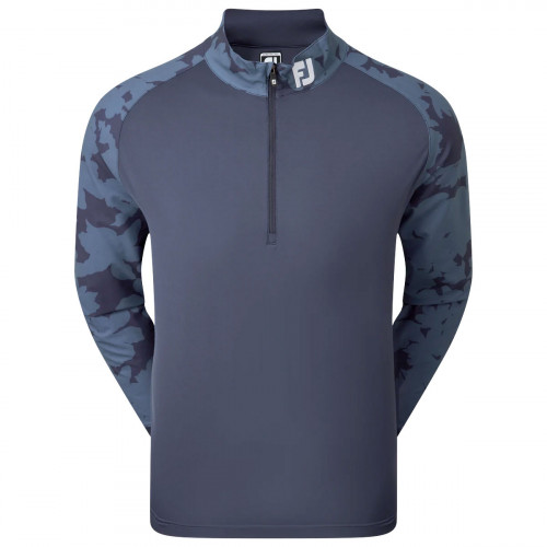 FootJoy Camo Floral Half Zip Mens Golf Mid Layer