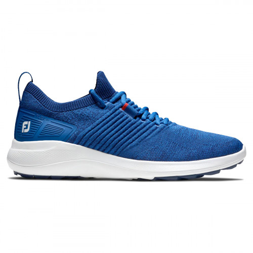 FootJoy Flex XP Mens Spikeless Golf Shoes (Blue)