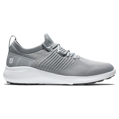 FootJoy Flex XP Mens Spikeless Golf Shoes (Grey)
