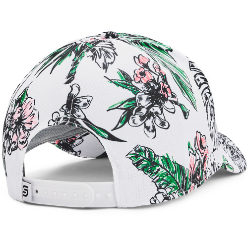Under Armour Mens UA Jordan Spieth Tour Adjustable Golf Cap Hat reverse