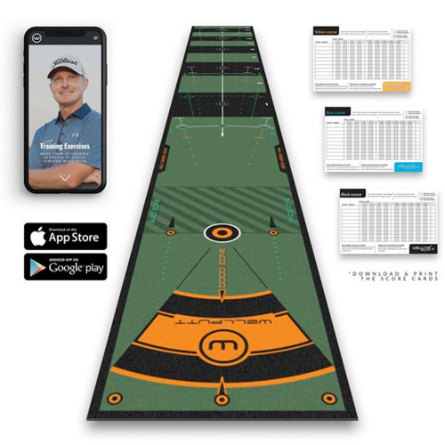 Wellputt 4 Meter High Speed Practice Putting Mat