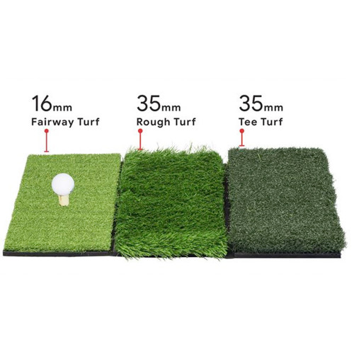 Longridge 3 Turf Golf Practice Mat (use a real golf tee) reverse