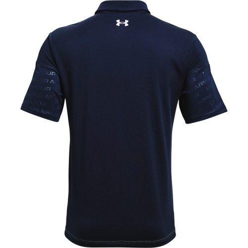 Under Armour Mens UA Playoff 2.0 Blocked Polo Shirt reverse