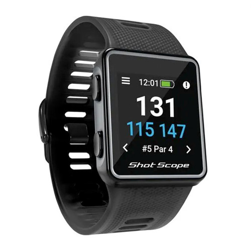Shot Scope V3 Gps & Tracking Golf Watch reverse