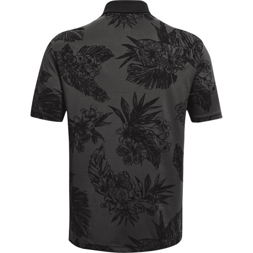 Under Armour Mens PlayOff 2.0 Floral Print Golf Polo Shirt reverse