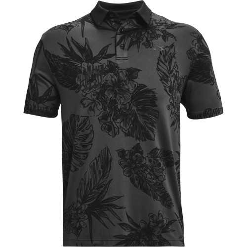 Under Armour Mens PlayOff 2.0 Floral Print Golf Polo Shirt