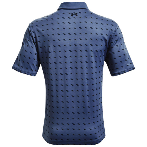 Under Armour Mens Playoff Polo Deuces Print reverse