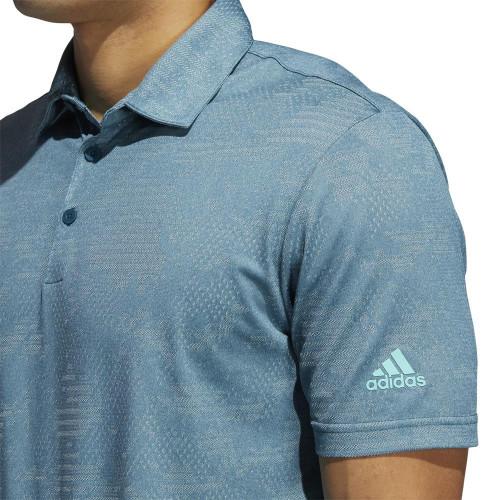 adidas Golf Ultimate365 Camo Polo Shirt reverse