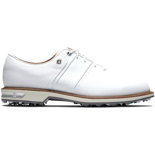 FootJoy DryJoys Premiere Series Packard Mens Golf Shoes  - White