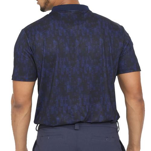 Castore Performance Geo Printed Mens Golf Polo Shirt