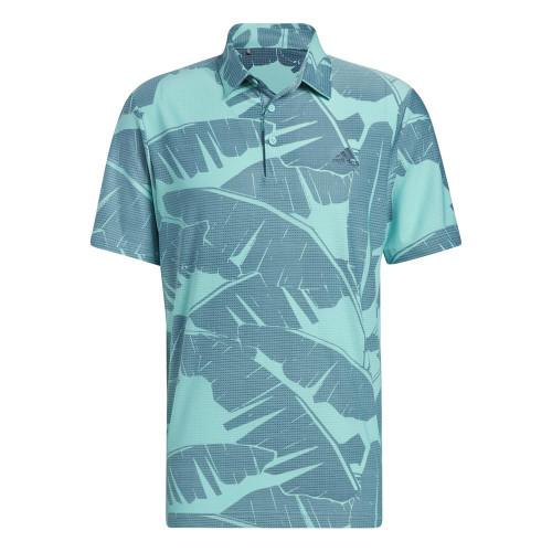 adidas Golf Ultimate365 Vibes Print Polo Shirt