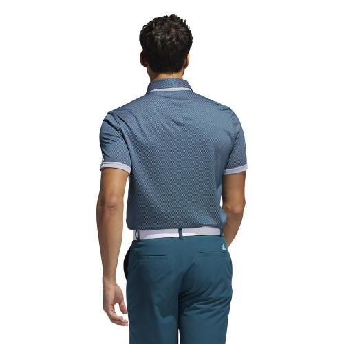 adidas Golf Equipment Two Tone Mesh Polo Shirt reverse