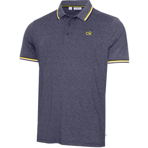 Calvin Klein Mens Casper Golf Polo Shirt