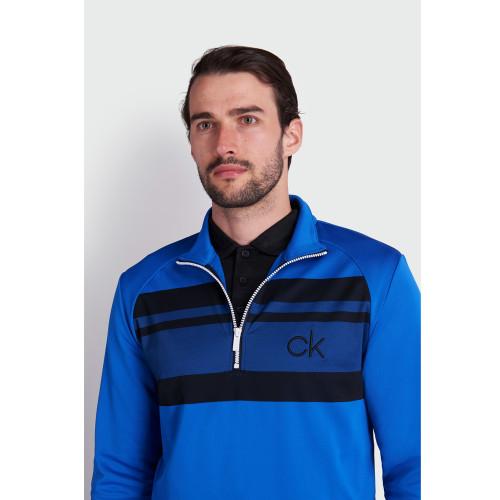 Calvin Klein Golf Taylor Half Zip Lightweight Breathable Sweater Mid Layer