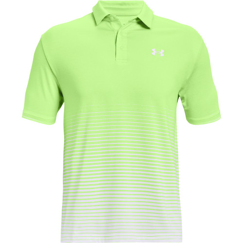 Under Armour Mens Playoff Polo Up and Down Stripe
