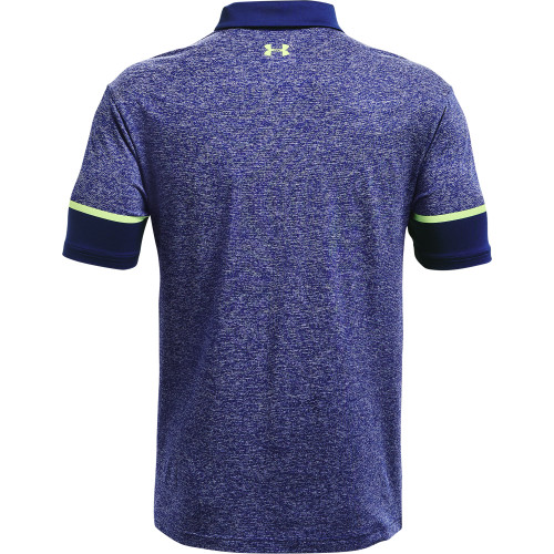 Under Armour Mens Playoff Polo Heathered reverse
