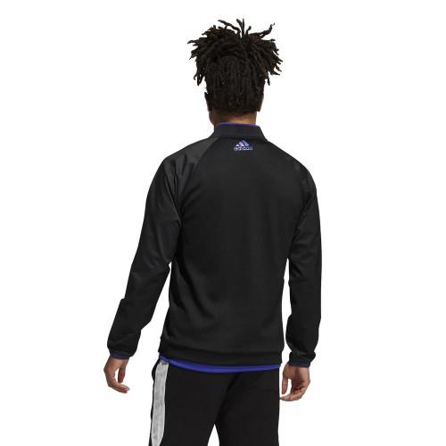 adidas Golf Primeblue 1/4 Zip Layering Sweatshirt Pullover reverse
