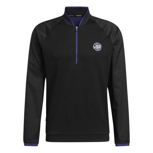 adidas Golf Primeblue 1/4 Zip Layering Sweatshirt Pullover