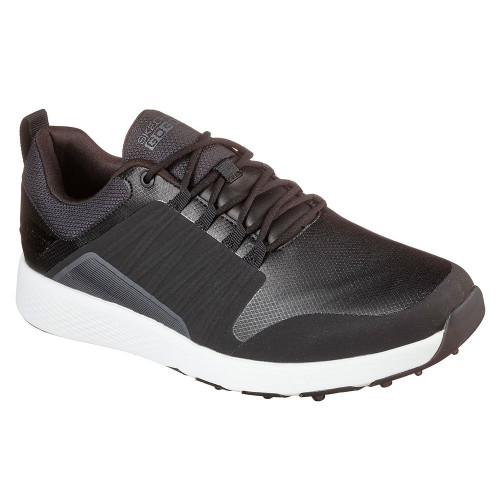 Skechers Go Golf Elite 4 Victory Mens Spikeless Golf Shoes  - Black/White