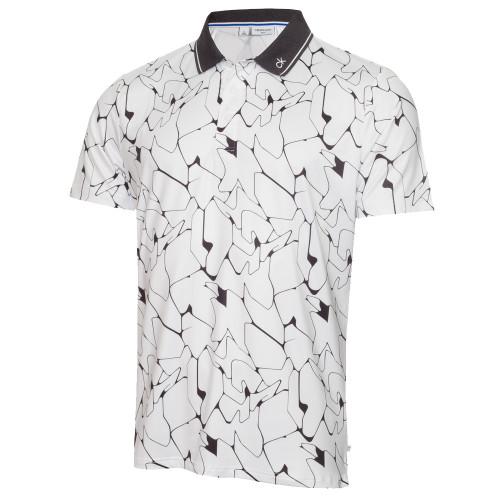 Calvin Klein Mens Sarazen Golf Polo Shirt