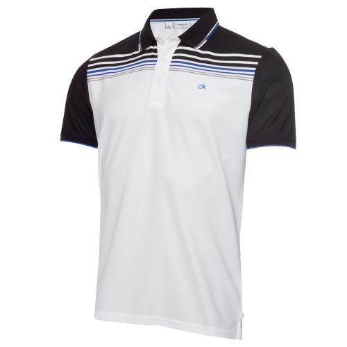 Calvin Klein Mens Nelson Golf Polo Shirt