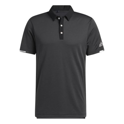 Adidas Golf HEAT.RDY Microstripe Golf Polo Shirt