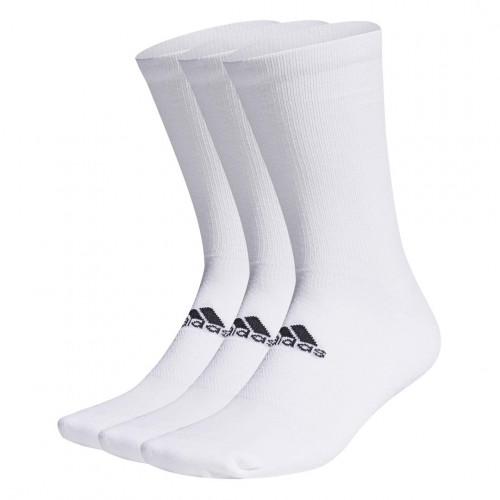 adidas 3 Pack Crew Golf Socks (UK 8.5-11.5)